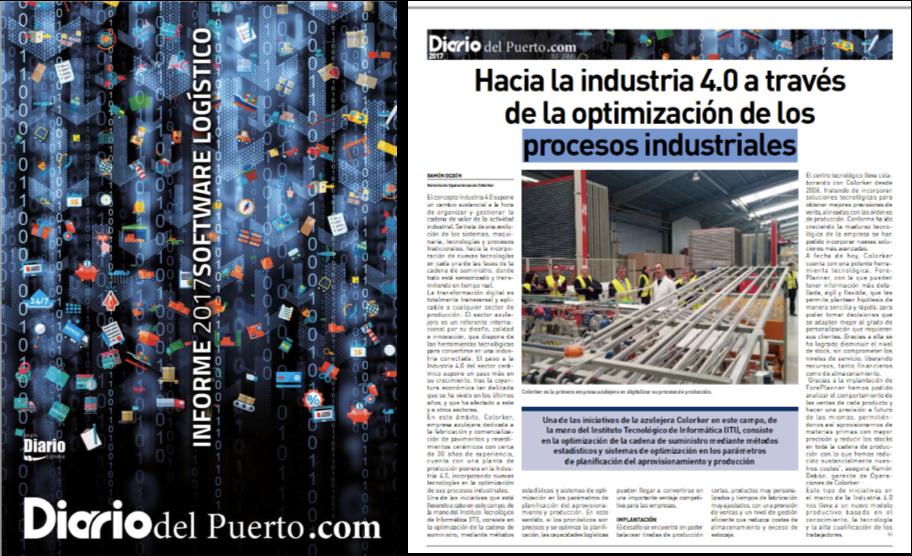 Fuente: Informe 2017 SW Logístico - Diario del Puert